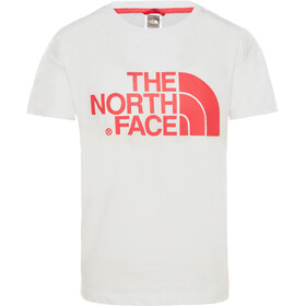 The North Face Boyfriend Kurzarm T-Shirt Mädchen tnf white